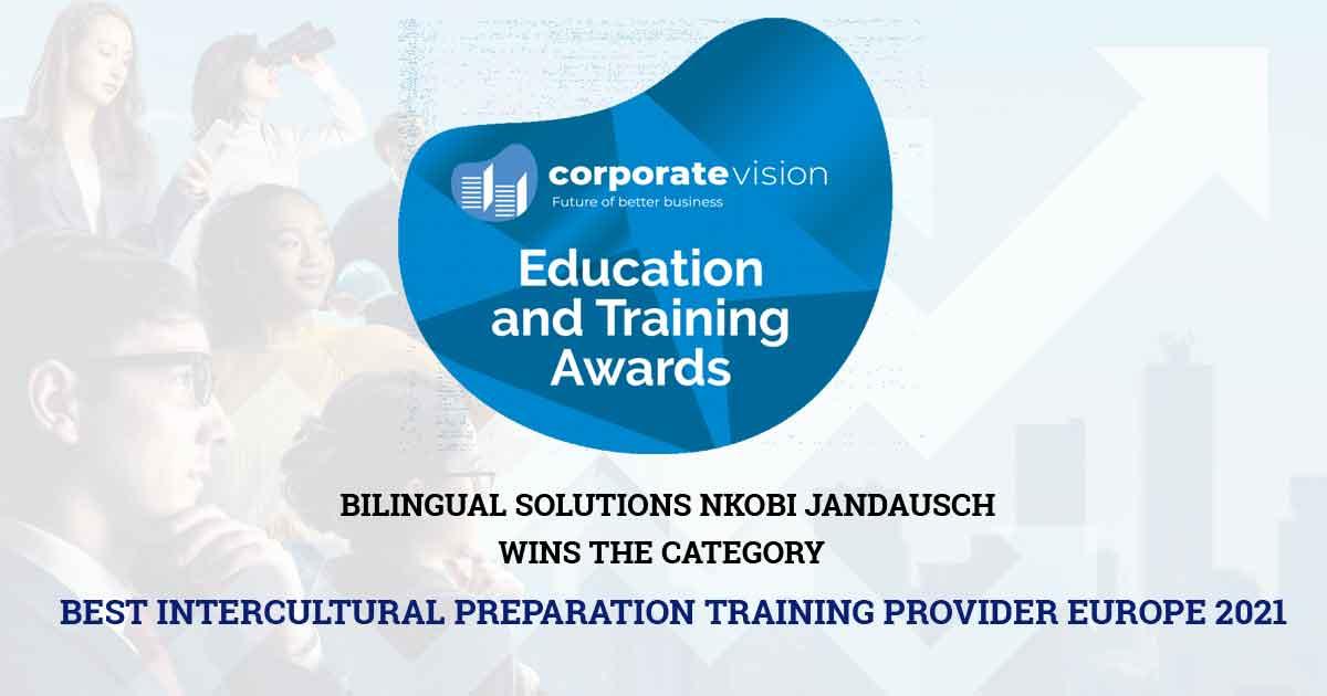 BEST INTERCULTURAL PREPARATION TRAINING PROVIDER EUROPE